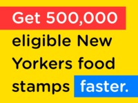 Make food stamp applications user-friendly, with Propel