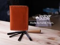 Leather Puzzle: Beautiful leather goods YOU can make