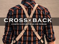THE CROSS BACK - A simple solution for an old problem.