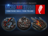 CoolMiniOrNot Base System Featuring Micro Art Studio