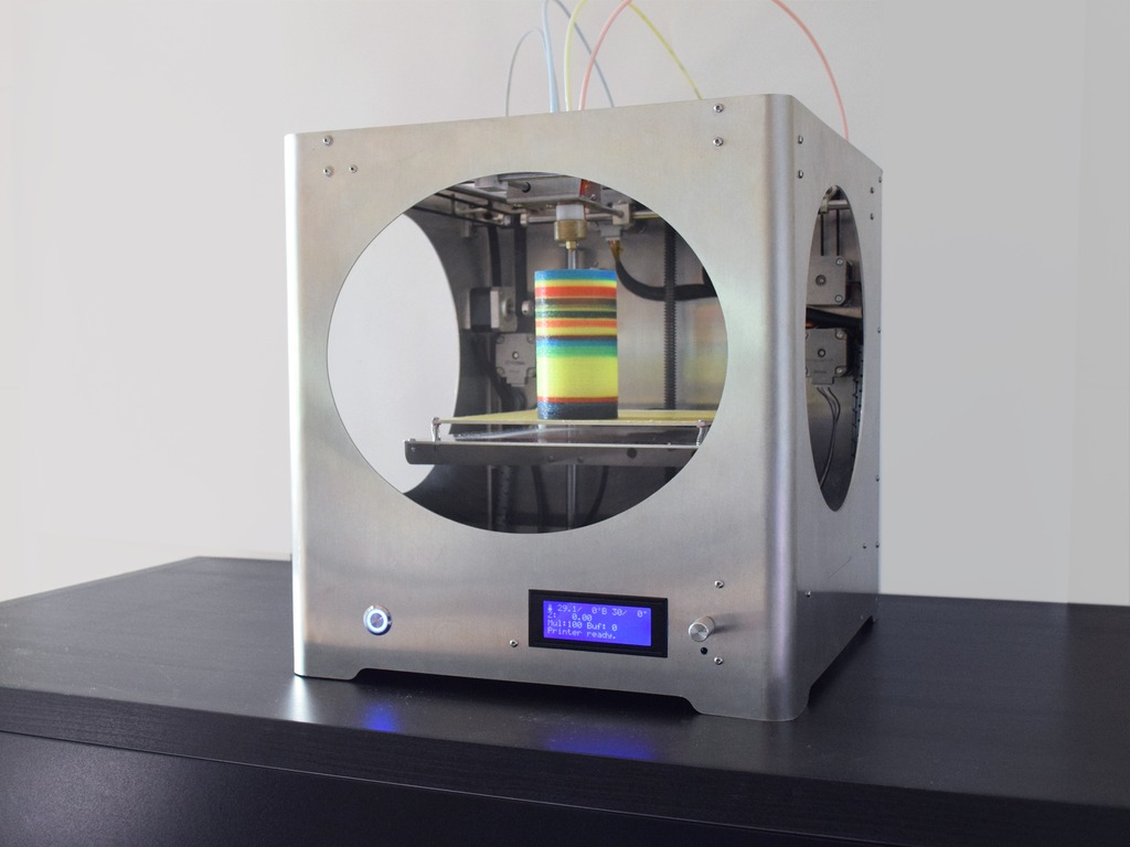 Innovative 3D4C Full Colors 3D Printer (Canceled)'s video poster