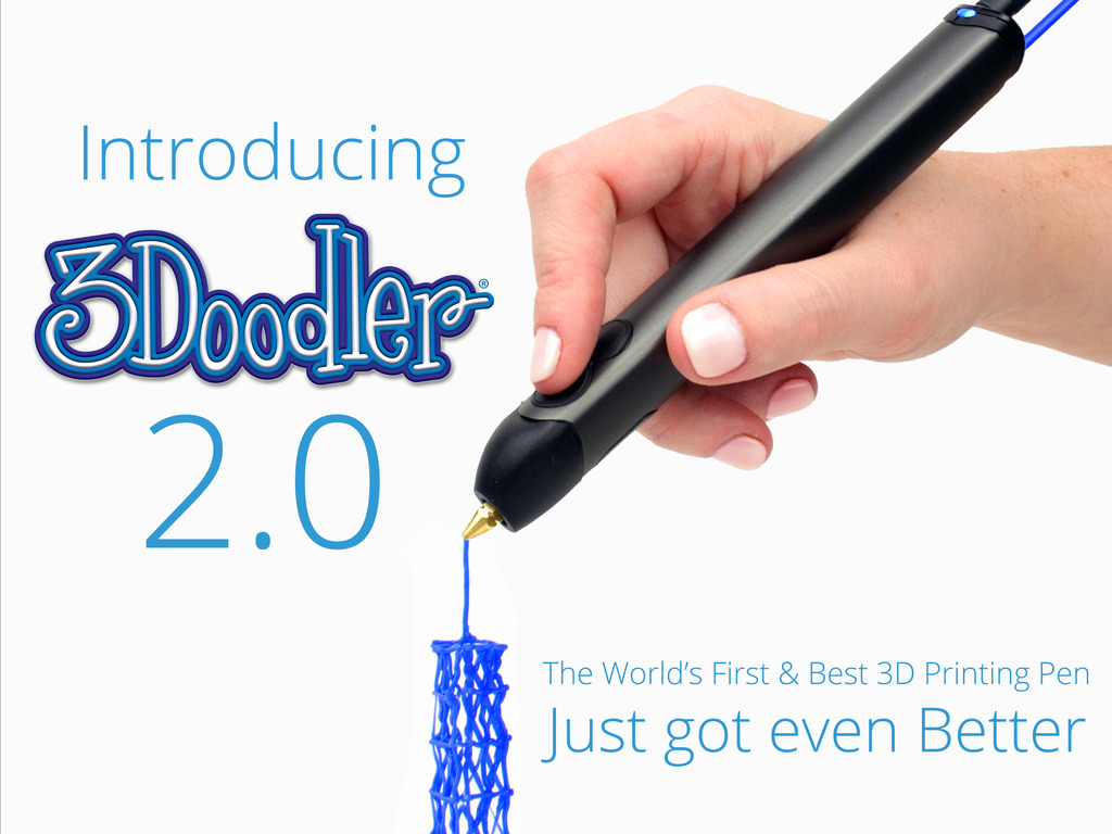 3Doodler The World's First 3D Printing Pen-Instant 3D Creation