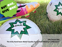 Hand Sewn, Match Quality Soccer Ball - Buy oNe, Give oNe