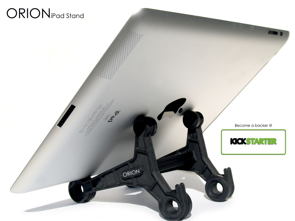 Form + Function = ORION iPad Stand's video poster