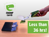 Chomp Cards - The Greeting Card With a Bite!