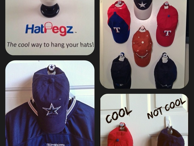 hatpegz the cool way to hang your hats s poster