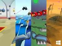 Substream ► an aerial shooter animated to music