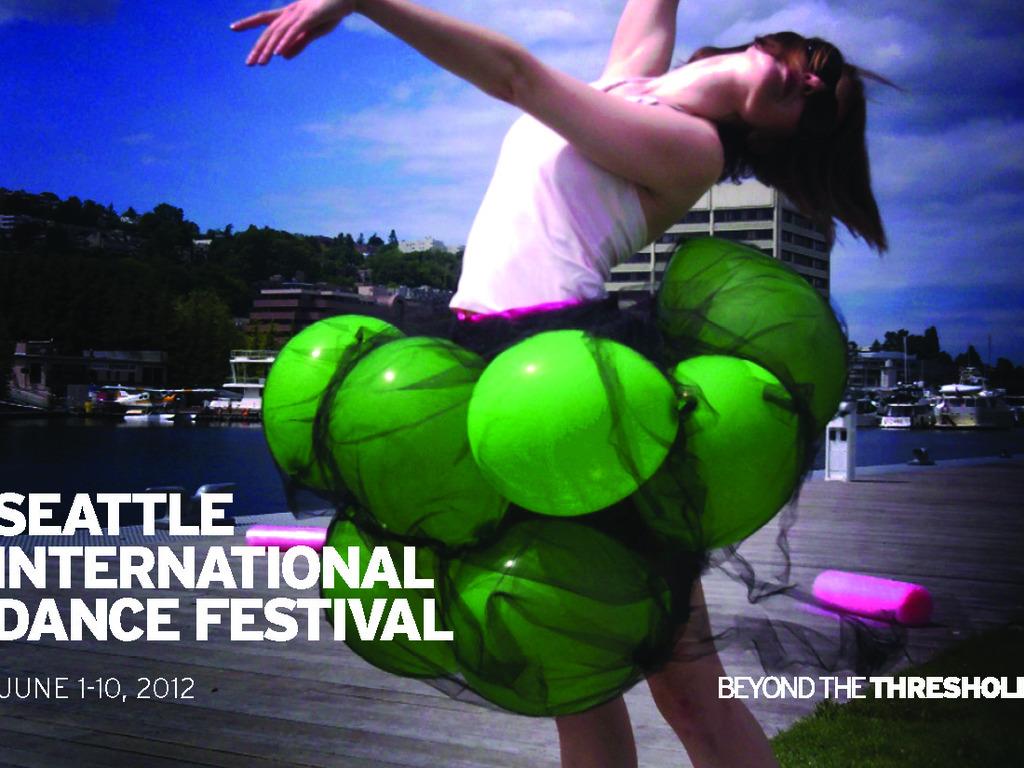 Seattle International Dance Festival's video poster