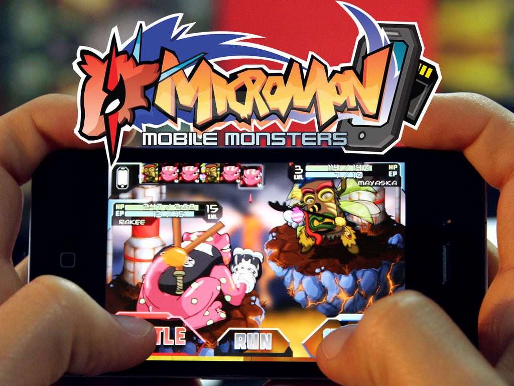 MICROMON: A Monster Capture Game for Mobile Devices's video poster