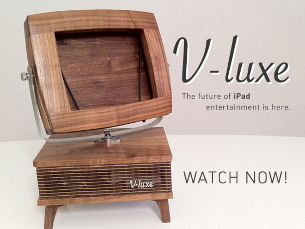 V-luxe - the future of iPad entertainment is here.'s video poster
