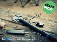 PowerPole : Battery Integrated GoPro Extension Pole