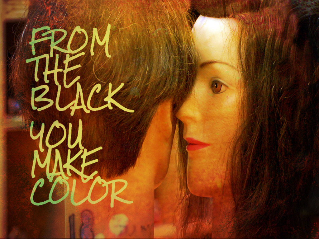 From the Black You Make Color's video poster