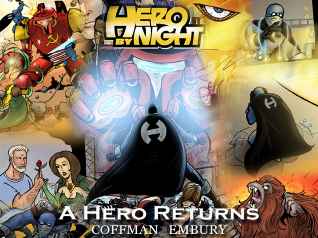 Hero By Night's video poster