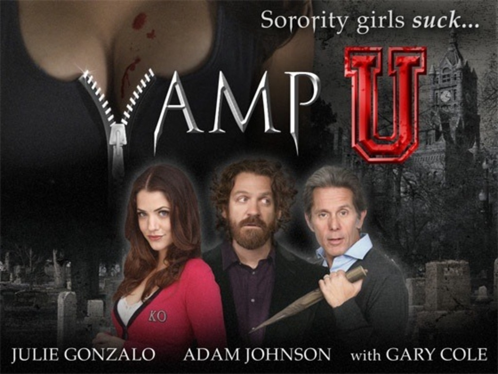 Vamp U (feature film)'s video poster