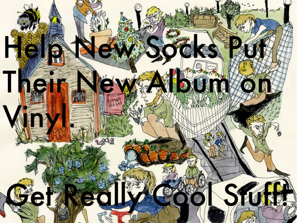 Help New Socks Release Their New Album on Vinyl and Tour's video poster