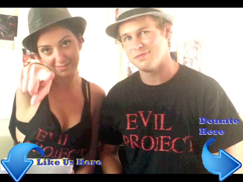 "Nina & Dave's Movie the ""EVIL PROJECT""'s video poster"