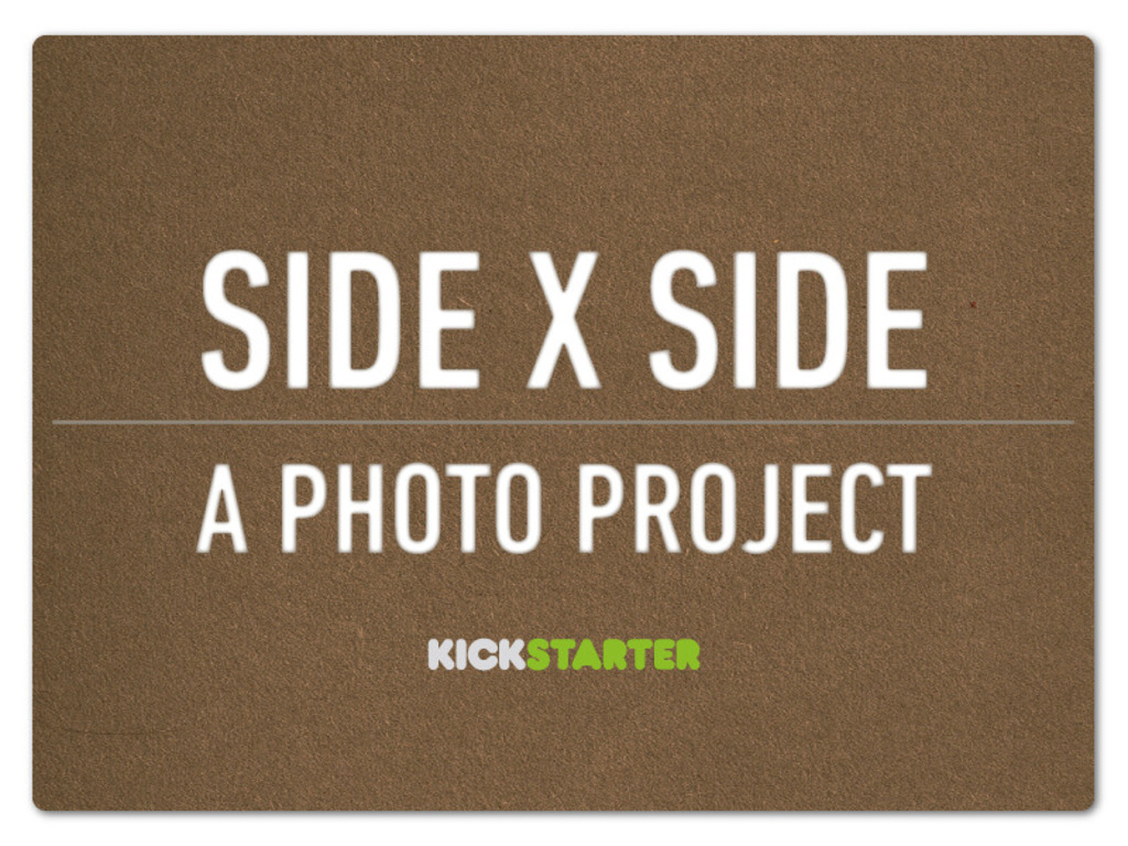 Side x Side's video poster