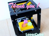 Laser Cube -  Enjoyable Laser Engraver and Cutter