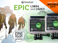 GoPro Hero 4, 3/3+ Extended Battery Pack- Limefuel Epic