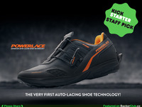 POWERLACE ADVANCED AUTO-LACING SHOE TECHNOLOGY