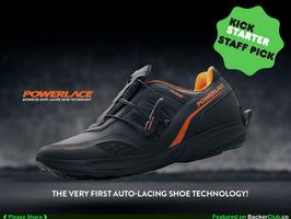 もうほどける靴紐とはおさらば。靴紐がないのに足にフィットするシューズ「Powerlace」 5番目の画像