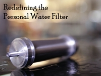 Walkabout Ti: World's Only Personal Water Filter in Titanium