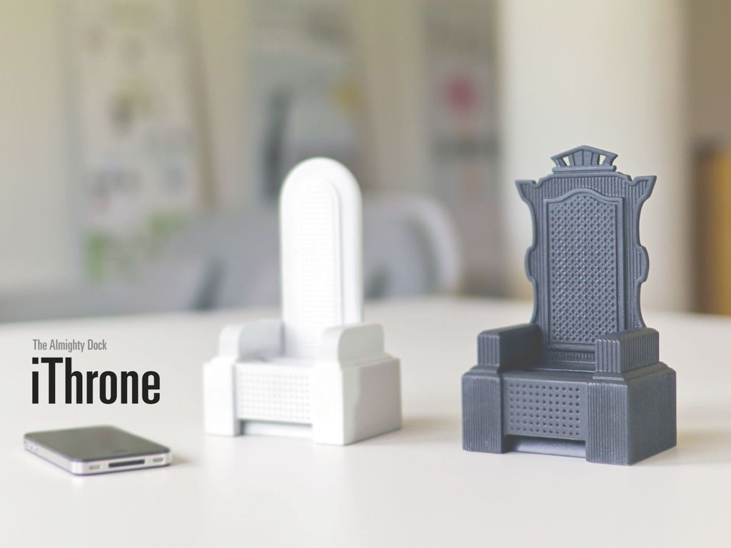 iThrone: The almighty iPhone Dock & Sound Amplifier's video poster