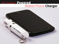 Australian Designed - Single AA Battery Phone Power Charger