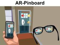 AR-Pinboard: An Augmented Reality (AR) Virtual Pinboard