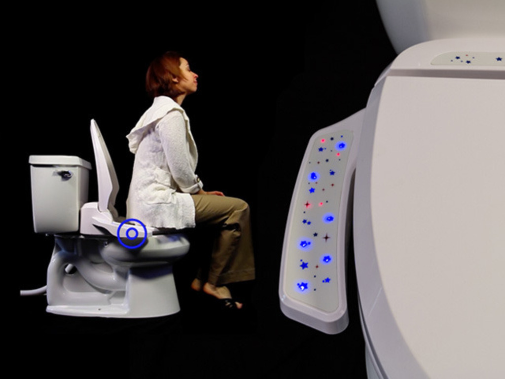 Fresh Air Plus: The Odor-Eliminating Toilet Seat's video poster