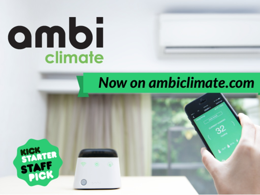 Ambi Climate: The Smart Add-on For Your Air Conditioner's video poster