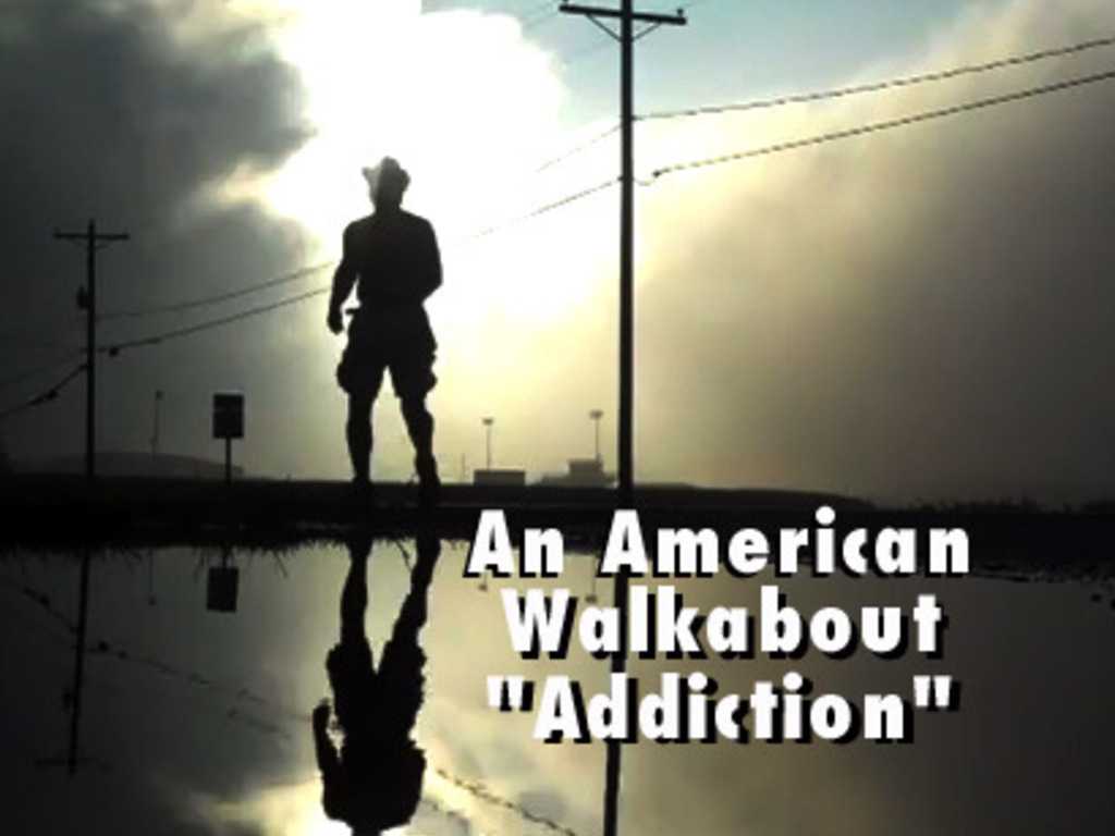 "An American Walkabout ""Addiction""'s video poster"