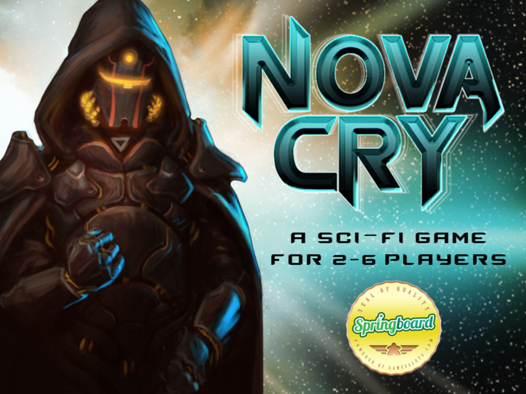 Nova Cry: An Explosive Sci-Fi Card Game for 2-6 Players!'s video poster