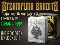 Bicycle Steampunk Bandits Playing Cards