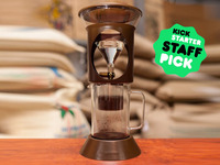 Brewover Cold Brew Coffee & Control Flow Pour Over System