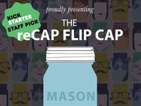 reCAP Mason Jars: Flip Cap