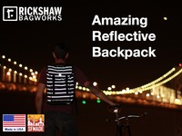 AMAZING REFLECTIVE BACKPACK by Rickshaw Bagworks