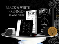 Twins Edition - Refined Bicycle Playing Cards by USPCC
