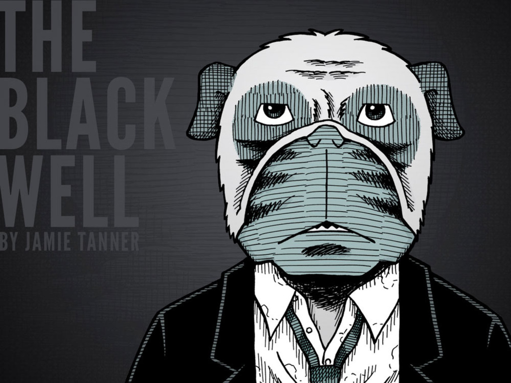 THE BLACK WELL, A New Graphic Novel by Jamie Tanner's video poster