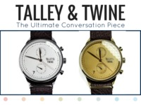 [Watch]Talley & Twine: Luxury Chronograph Watches w/ Leather