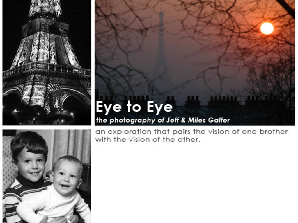 Galfer Brothers' Photo Exhibition's video poster