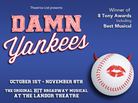 Damn Yankees at the Landor Theatre