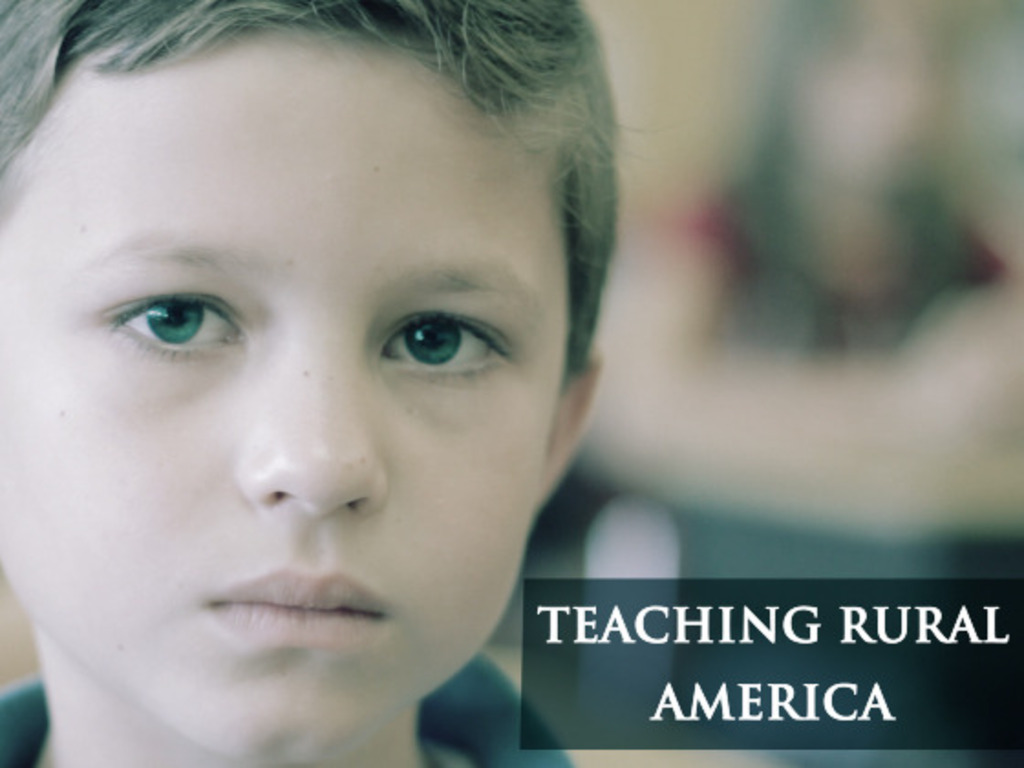 TEACHING RURAL AMERICA's video poster