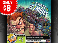 I Hate Zombies. - BoardGameGeek Micro Game #1!