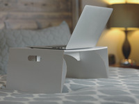 Lapdeck: the $10 portable laptop desk