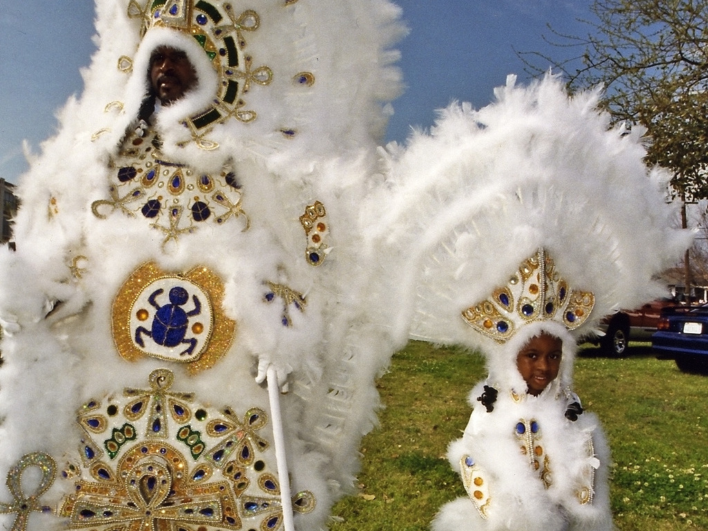 Golden Feather Mardi Gras Indian Gallery & Coffee House's video poster