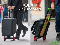 OLAF scooters - Multifunctional hybrid folding kick scooters