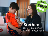Stethee - Listen, See & Feel a Heartbeat In Your Hand.