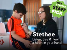 健康的な生活を送りたい人へ。ワイヤレス聴診器「Stethee」はスマホと連携し、心拍数を追跡 5番目の画像