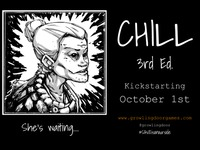 Chill 3rd Edition: A Horror Roleplaying Game
